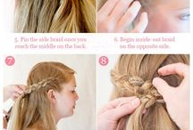 Girls hairstyles / by Hali Strand