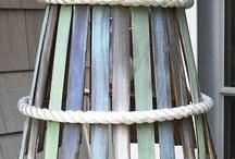 абажуры деревянные