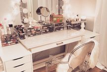 Make-up corner / Ideas for a make-up corner