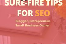SEO Tips / Tips for improving your SEO to optimise your website, blog and social media content.