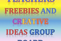 Teacher Freebies & Creative Ideas Group Board / TPT Freebie Group Board: Ideas, freebies, blog posts, and more that introduces some amazing sellers to the public! Pinners: remember, you must pin freebies, useful blogposts or other useful content. If you would like to join our growing group, please email me @ erica@goodsensorylearning.com