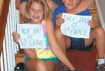 My Kids' First & Last Days of School  / by Caroline Adams Miller