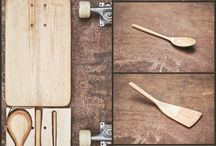 Recycled sk8boards