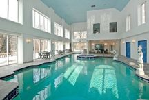 Stay-Cation Homes / Homes that are so nice, you never have to take a vacation away from home.