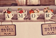 { Wedding } Day of the Wed / Vintage latin inspired, fun dia de los muertos details.