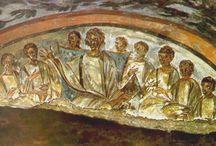 фрески катакомб Рима