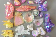 mineral collections - colorful gems - crystals