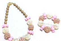 Maks Sweet Treats Collection / Candy, Donuts and Ice Cream themed Chunky Bracelets and Chunky Necklaces. Perfect for Candy themed birthdays!