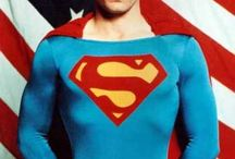 Superman. The greatest of all heros. / Superman is my hero. / by Veronica Penrod Afman