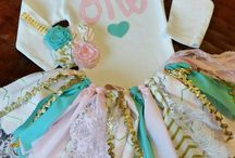 Mint, Gold, Pink Party / Parties ideas in Mint, Gold, Pink,