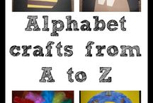Alphabet craft / Lettere alfabeto