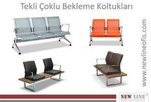 Tekli Çoklu Bekleme Koltukları / www.newlineofis.com