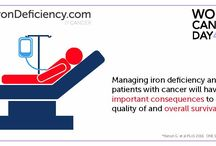 Cancer and iron deficiency
