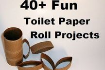 Toilet Paper Roll Projects  / by Angie Allen