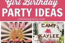 Festas De Aniversário Para Meninas