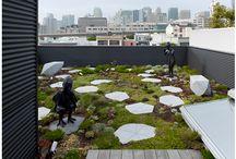 Ogrody na dachu / Realizacje ogrodów w systemie zielonego dachu