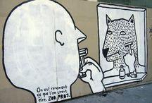 Street Art / Grafs, collages