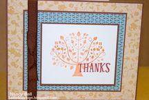 Season of Thanks D1604 CTMH / uses for CTMH Season of Thanks stamp set