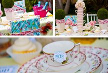 Big Girls Tea Party / A tea party designed for big girls and their favourite friends.