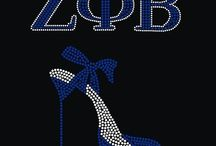 ZETA PHI BETA / by LIZ MCCARTER