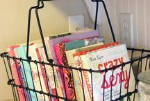 Cookbooks organize