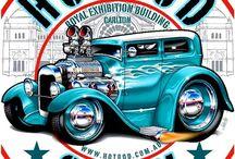 Australian car show flyers