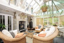 Homes with conservatories / Property for sale in Cornwall with conservatories..