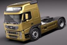 T VOLVO TRUCKS FM7/FM10/FM12/FM16 / Powerful truck,of the swedish brand VOLVO,FM range series.