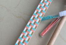 loom / beads looming,デリカ織り,Delica beads:miyuki