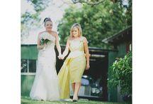 Wedding Dresses and Brides