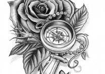 Tetování kotvy