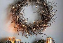 Xmas wreath ideas
