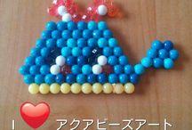 Aqua Beads Art / アクアビーズアート