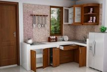 interior dapur/kitchen set