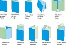 Folder Criativos e Modelos de Dobras