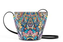 My Mama's Bag - I Sing In Colours / Women Leather Handbags, Limited Edition Designer Leather Bag COLOURS OF MY LIFE - Limited Edition wearable art signed by Anca Stefanescu.