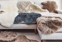 Luxurious Sheepskin Rugs / It's certainly cold right now, with the UK experiencing some of the harshest weather we've had in a very long time. Even with the heating on full, it's still tempting to wrap up as warm as possible indoors with extra layers and comforts that help to create a cosy environment for you and your family.