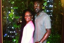 Hubby and me / Life's what we make it..