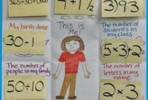 Math lessons activities / by Rose Ball