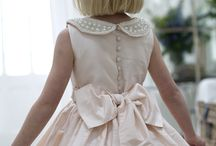 Nicki MacFarlane / Heavenly gowns for little angels!  These gorgeous creations are by Nicki Macfarlane, who designed for HRH Duchess of Cambridge's little flower girls for the royal wedding, and are sheer perfection!  Available at Carina Baverstock Couture