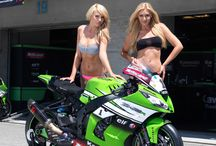 Babes bike feat pit Girls