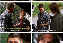 Supernatural / It's about time it has it's own board / by NatalieDreams andReadsalot
