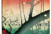 Japanese woodblock prints / classical Japanese woodblock prints - have always loved this art form