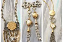 Custom Vintage Heirloom Jewelry / Dora Mae Jewelry Uncovers new beauty by creating custom modern vintage pieces with outdated heirlooms