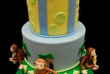 Sara monkey cake ideas