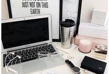 Flatlays - work desk situation