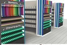 PLV RETAIL - POS : Point of sales promotion for RETAIL : displays