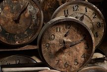 Clocks - past, present and/or future