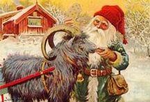 Chevres Goats christmas