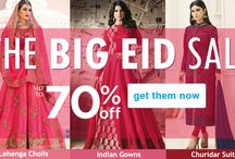 Eid Sale Online / Eid Sale Online 2017 - 2018, Shop the latest Indian ethnic wear collection online for women at best price in India. Get Express Shipping USA, UK, Canada, Australia and Worldwide. Buy @ http://www.hatkay.com/online-sale